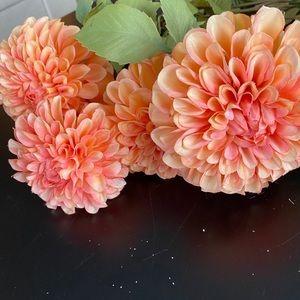 ASHLAND | Silk dahlia floral stems
